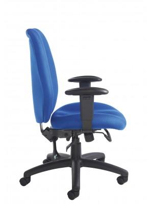 Cornwall multi functional operator chair - blue