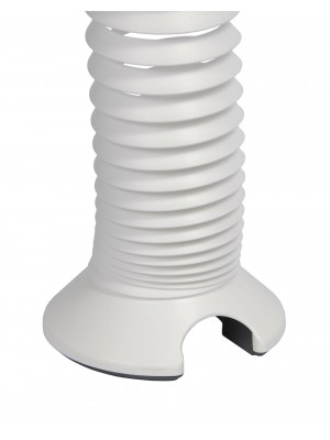 Elev8 vertical expanding cable spiral - white