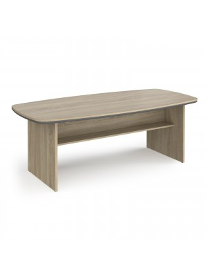 Magnum conference table 2100mm x 1000mm - light oak