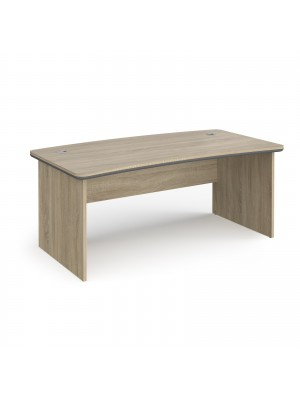 Magnum executive desk 1800mm x 900mm - light oak
