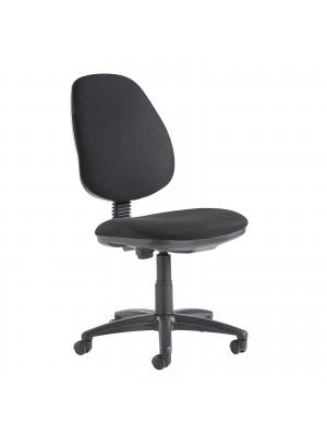 Vantage tamper proof educational chair - black