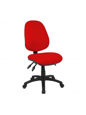 Vantage 200 3 lever asynchro operators chair with no arms - red