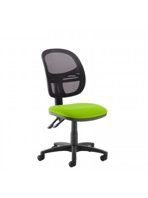 Jota Mesh medium back operators chair with no arms - green