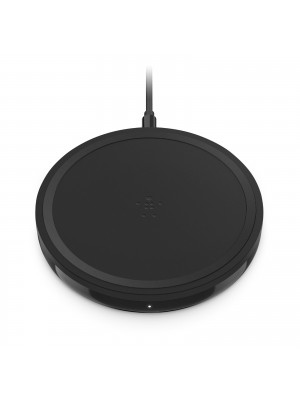 Wireless charging pad 10W for Apple, Samsung, LG and Sony - Black