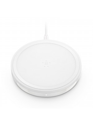 Wireless charging pad 10W for Apple, Samsung, LG and Sony – White