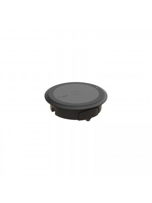Wireless charging spot for surface installation – Black