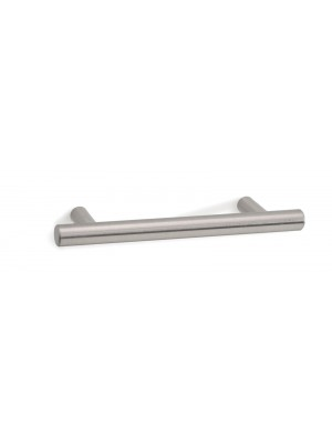 Tubular handle for deluxe wooden storage with 96mm hole centres