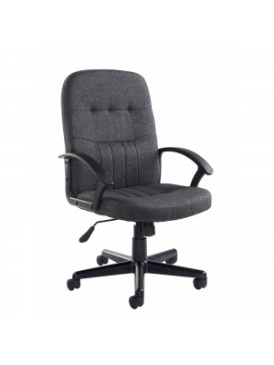 Cavalier fabric managers chair - charcoal