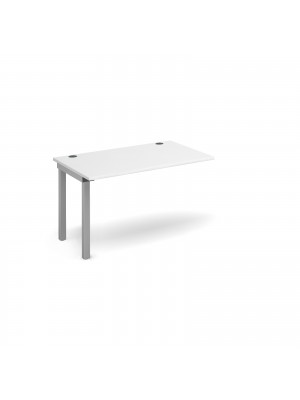 Connex add on unit single 1200mm x 800mm - silver frame, white top