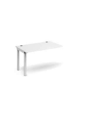 Connex add on unit single 1200mm x 800mm - white frame, white top