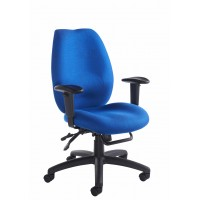 Cornwall multi functional operator chair - blue
