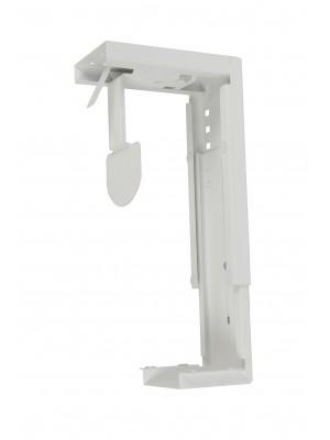 Large under desk CPU holder - white