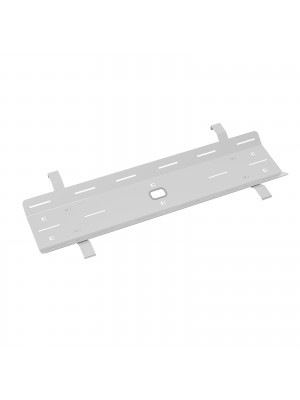 Double drop down cable tray & bracket for Adapt and Fuze desks 1400mm - white