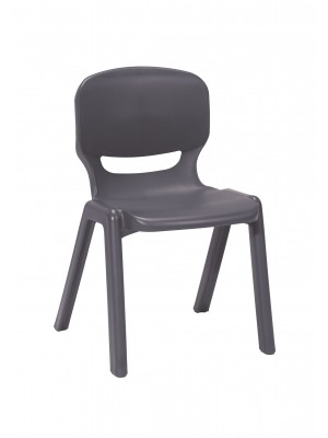Ergos versatile one piece educational chair for age 14-16 (box of 4) - slate