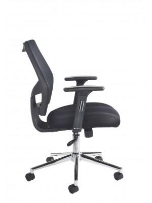 Grantham fabric mesh operator chair - black
