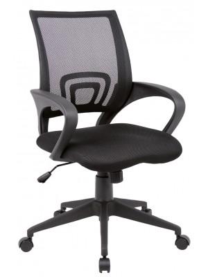 Lincoln mesh back operators chair - black