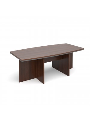 Magnum conference table 2100mm x 1000mm - american walnut