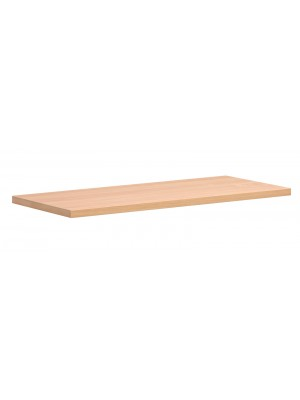 Economy bookcases extra shelf - beech