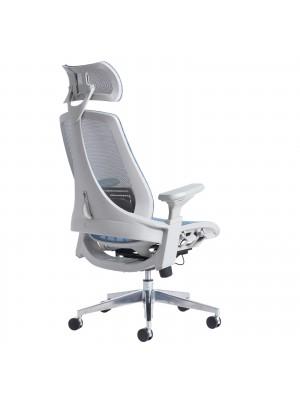 Sorrento high mesh back posture chair - black