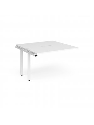 Adapt sliding top add on units 1200mm x 1200mm - white frame, white top