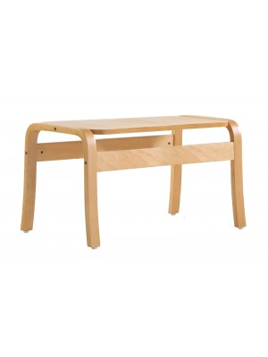 Yealm rectangular table 410mm x 380mm - beech